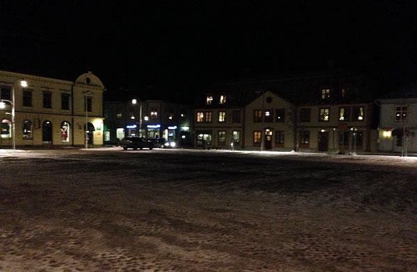 Torget i Askersund - lydnadsplan