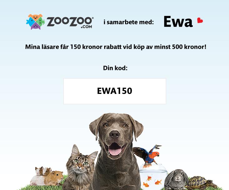 Rabattkod hos ZooZoo.com